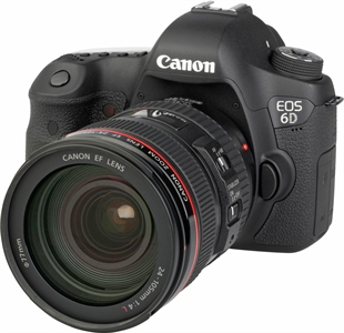 CANON EOS 6D + EF 24-105mm 1:4 L IS USM